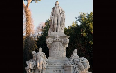 By the Villa Borghese