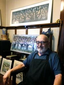 Jack Carlton in Studio